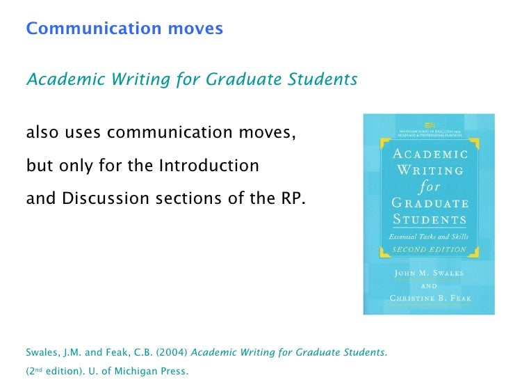 Writing graduate pdf for academic students