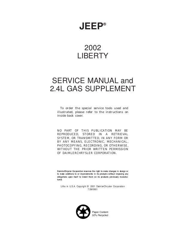 jeep liberty kj series gas diesel full service repair manual 2005
