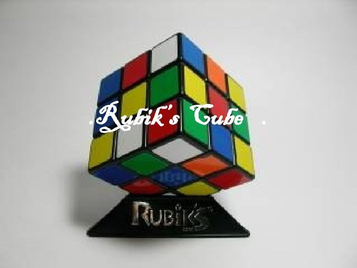 .Rubik's  Cube  . Solution  of  The  Rubik's  Cube : Layer  By  Layer