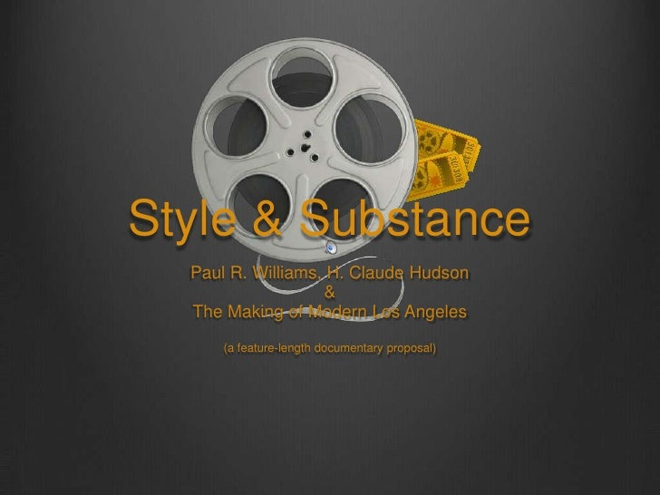 Style & Substance<br />Paul R. Williams, H. Claude Hudson <br />&<br />The Making of Modern Los Angeles<br />(a feature-le...