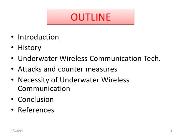 The Underwater Wireless Communications Information Technology Essay