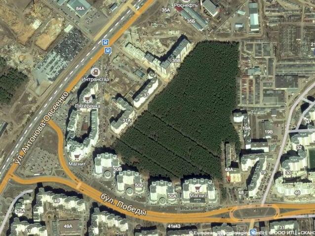 Схема зонирования парка 1-входная группа 2-спортивно- игровая зона 3-центральная аллея 4-дальняя аллея