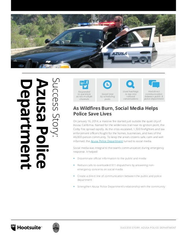 Success Story: Azusa Police Department