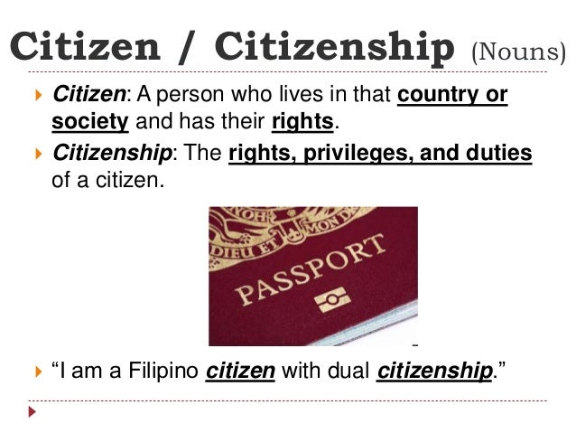 what is a citizenship education