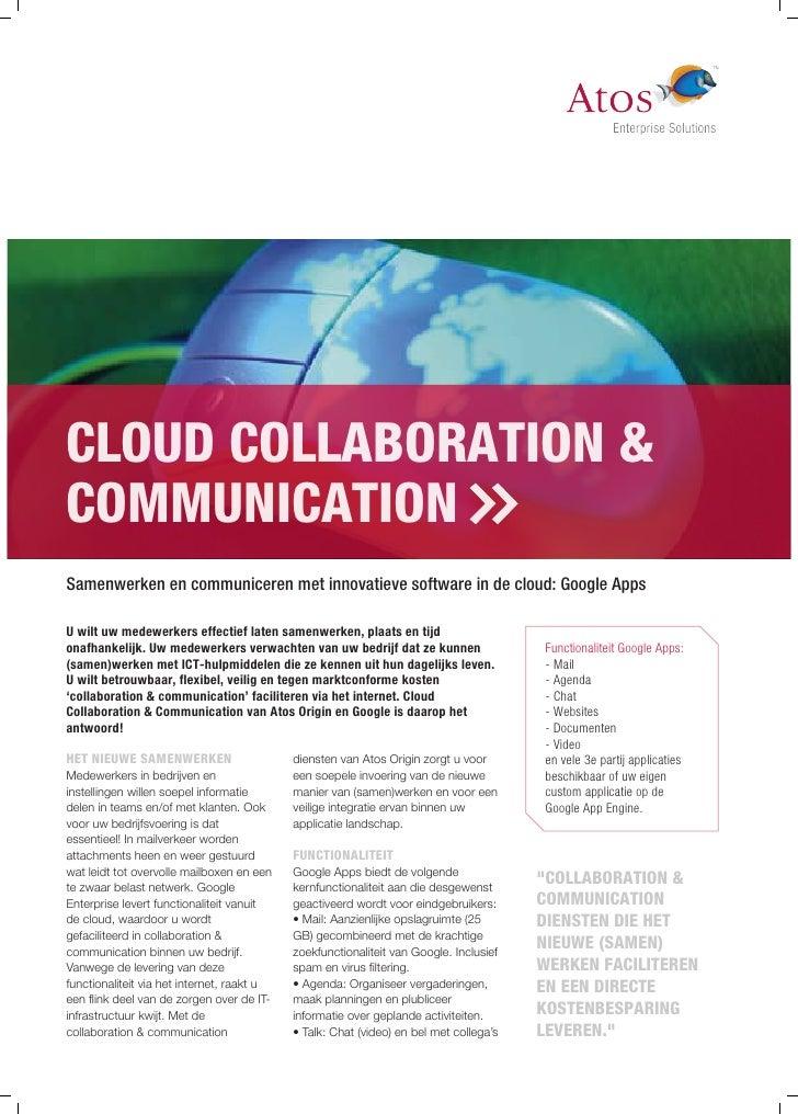 Service sheet Cloud Collaboration