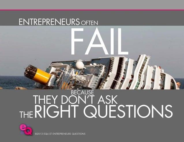 Entrepreneurs Questions