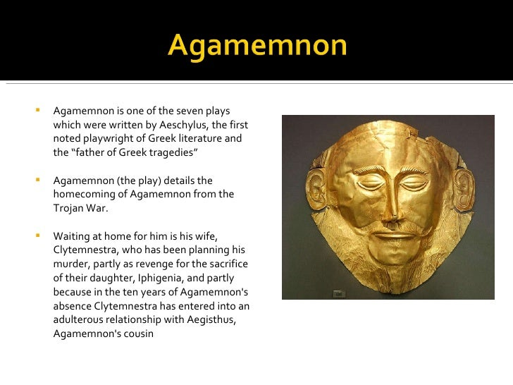 the relationship of agamemnon and clytemnestra How does clytemnestra explain to agamemnon the absence of what does cassandra tell the chorus about her relationship with study questions: agamemnon.