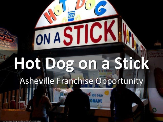 Hot Dog on a Stick Asheville Franchise Opportunity cc: Thomas Hawk - https://www.flickr.com/photos/51035555243@N01