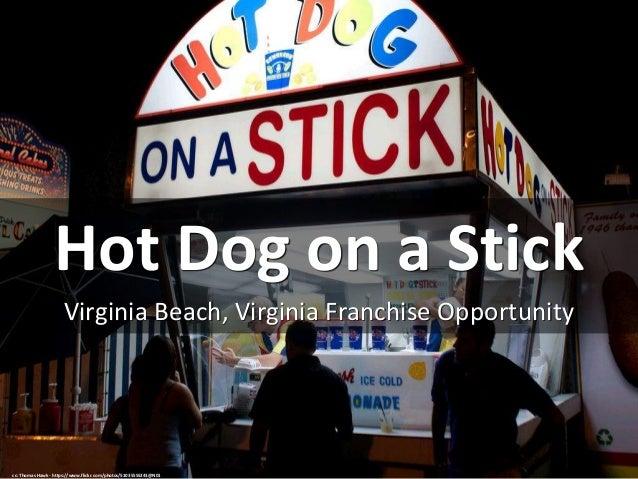 Hot Dog on a Stick Virginia Beach, Virginia Franchise Opportunity cc: Thomas Hawk - https://www.flickr.com/photos/51035555...