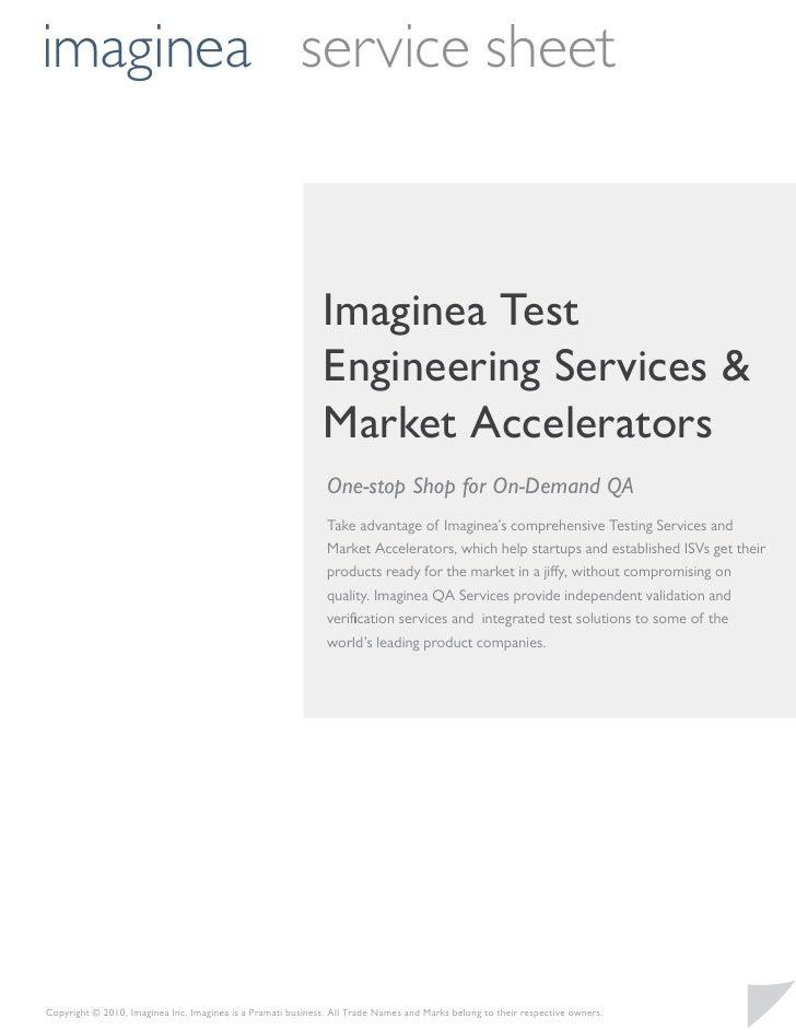 imaginea service sheet                                                             Imaginea Test                          ...