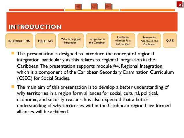 regional integration social studies