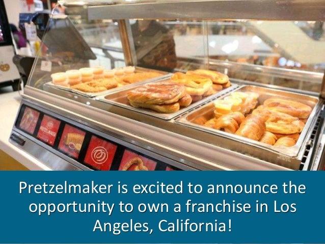 Pretzelmaker Opportunity in Los Angeles, California! Slide 2