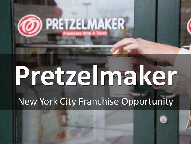 Pretzelmaker New York City Franchise Opportunity