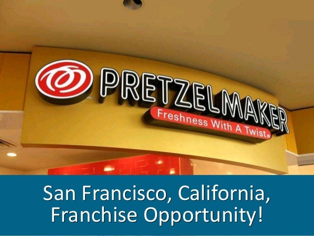San Francisco, California, Franchise Opportunity!