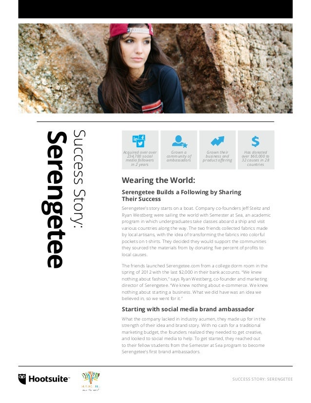 Success Story: Serengetee