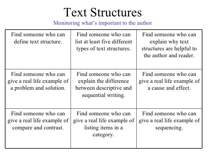 Ss Text Structure