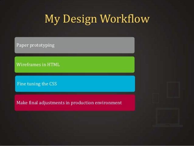 Using css framework for responsive ui design