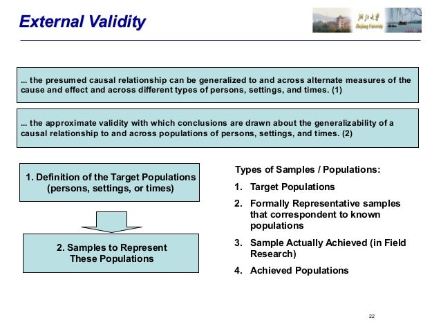 validity of data cause and effect relationship definition