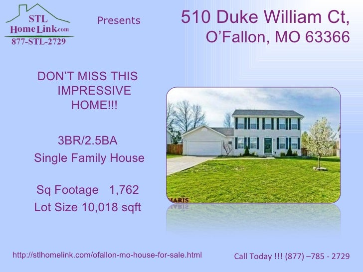 DON'T MISS THIS IMPRESSIVE HOME!!! 3BR/2.5BA Single Family House Sq Footage 1,762 Lot Size 10,018 sqft 510 Duke William Ct...
