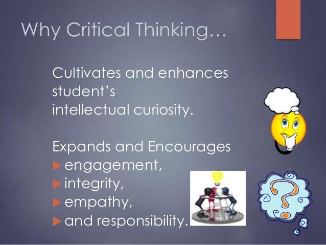 essays on critical thinking
