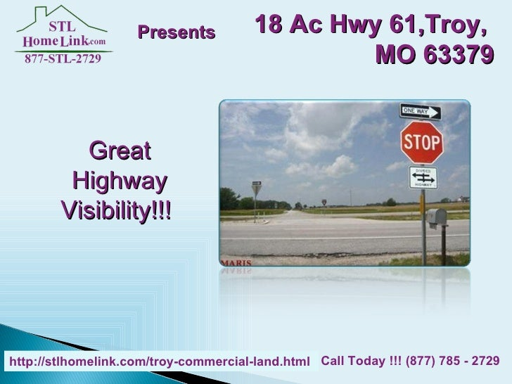 Troy Commercial Land for Sale