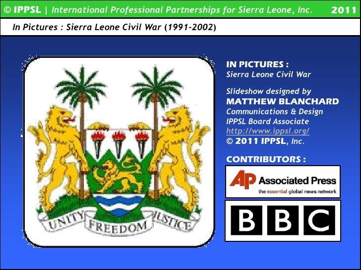 IN PICTURES | Sierra Leone Civil War (1991 - 2002)