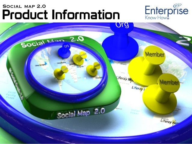 Product Information Social map 2.0