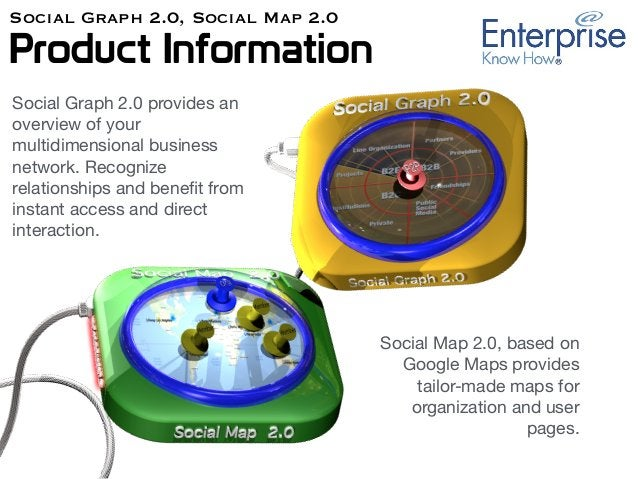 Social Graph 2.0, Social Map 2.0 Product Information Social Graph 2.0 provides an overview of your multidimensional busine...