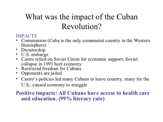 impact of the collapse of the soviet union on the cuban economy 21062011 the failure of western experts to anticipate the soviet union's collapse may in part be  of the soviet economy became consequential.