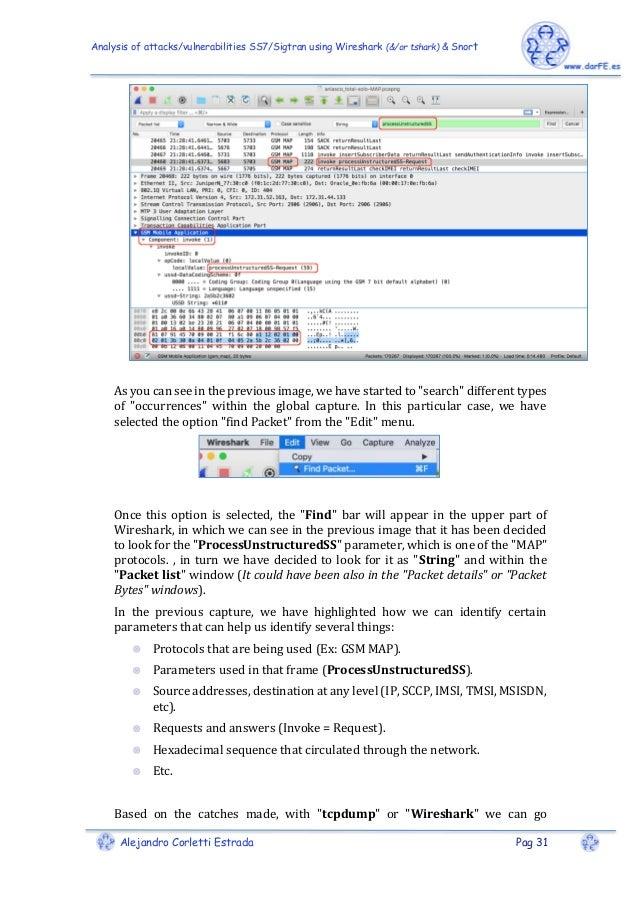 Analysis of attacks / vulnerabilities SS7 / Sigtran using