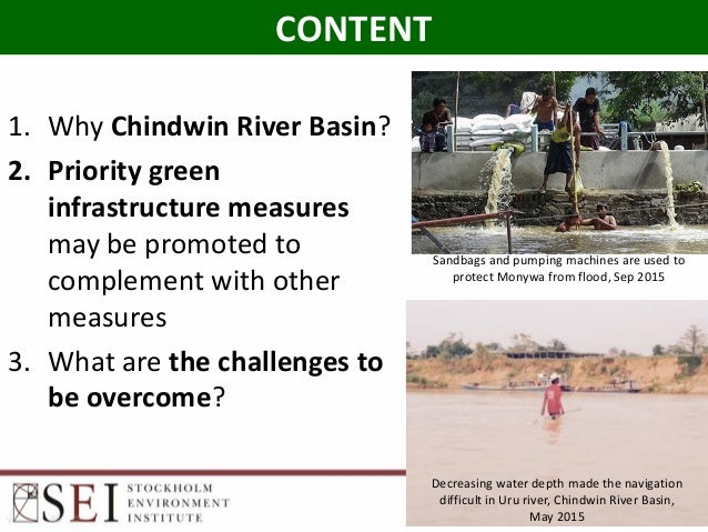 Green infrastructure: Solutions Chindwin Slide 2