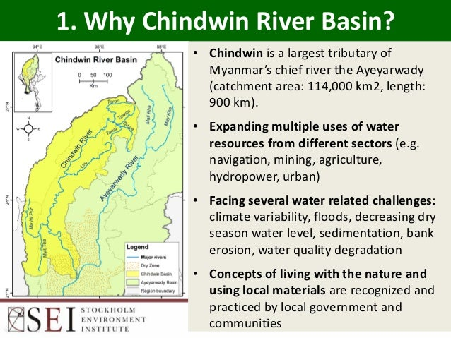Green infrastructure: Solutions Chindwin Slide 3