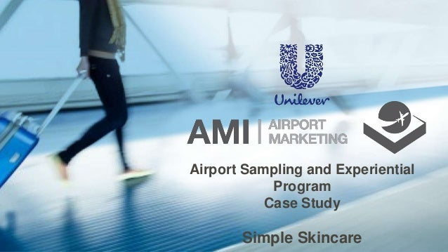 Airport Sampling and Experiential Program Case Study Simple Skincare