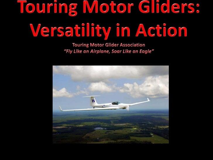 • Presenters:    – Richard Pearl, CFIG    – Michael Haisten, A&P/IA•   What is a TMG?•   Legal Issues•   The Fleet•   Geog...