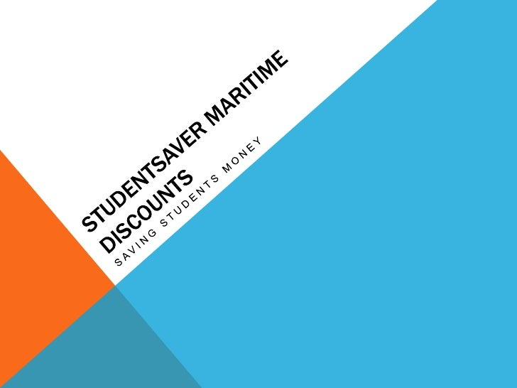 Studentsaver maritime discounts<br />Saving students money<br />