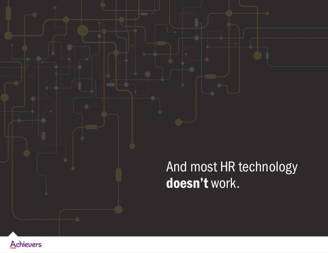 Back to the Future with HR Technology Slide 3