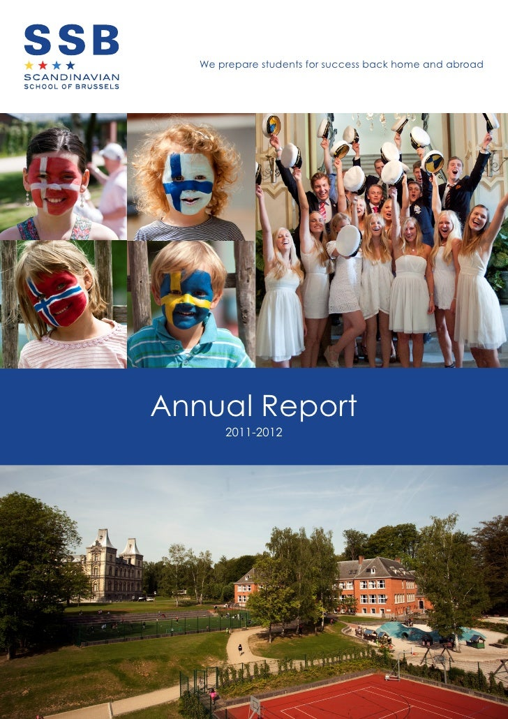 We prepare students for success back home and abroadAnnual Report       2011-2012