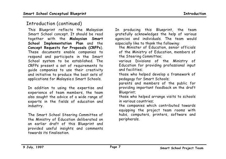 Smart school blueprint 7 smart school conceptual blueprint malvernweather Choice Image