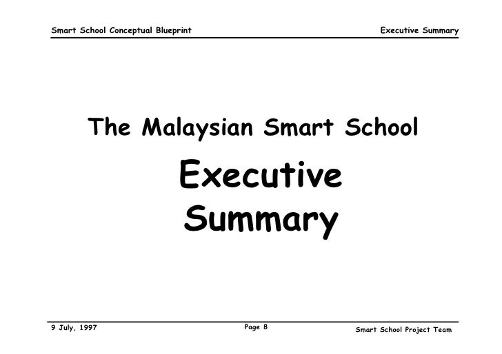 Smart school blueprint 8 smart school conceptual blueprint malvernweather Choice Image