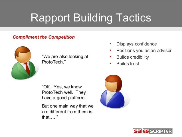 How to Build Rapport, Interest, and Credibility When ...