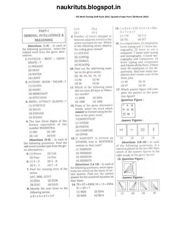 Last Minute Tips for SSC MTS Descriptive Exam