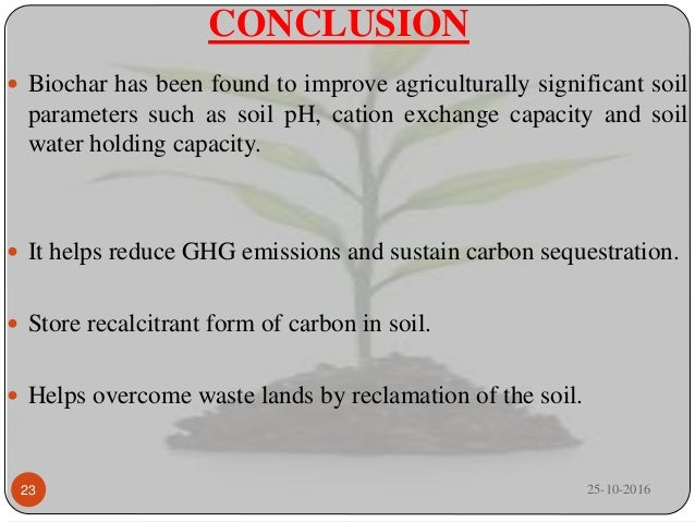 Biochar and its importance in sustaining crop productivity for Soil quality parameters