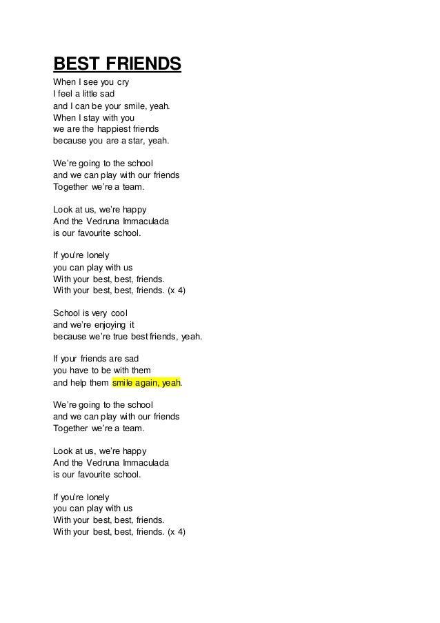 Find song by lyrics - angelfirenm info - Your friends can meet my lyrics