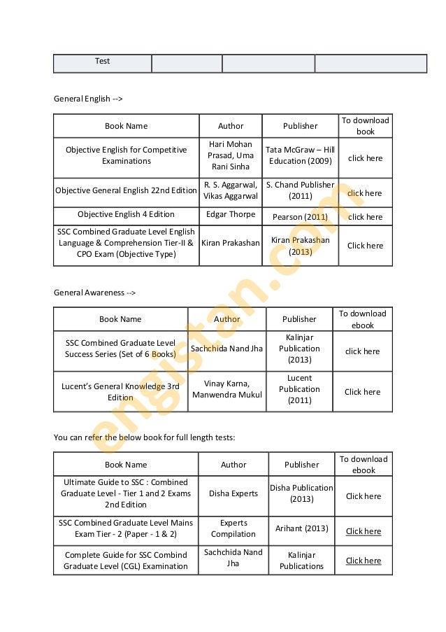 Ssc Cgl 2014 Study Material Pdf