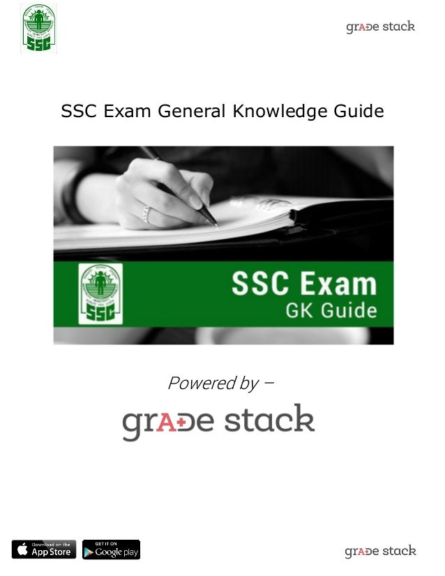 ssc exam important general knowledge guide rh slideshare net General Knowledge Hindi General Knowledge Math Study Guide