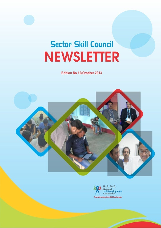 Sector Skill Council  NEWSLETTER Edition No 12/October 2013