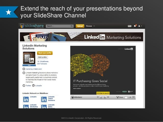 Showcase your Presentations on LinkedIn with SlideShare Content Ads  Slide 2