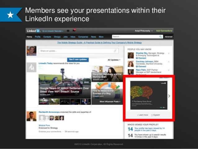 Showcase your Presentations on LinkedIn with SlideShare Content Ads  Slide 3