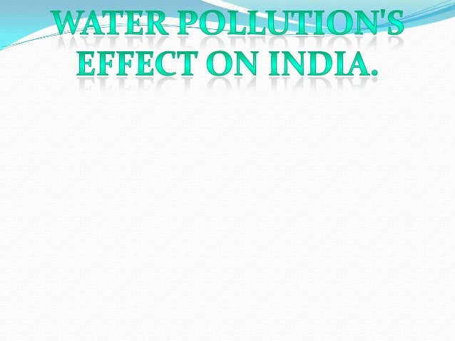 Water pollution is one of the most problems which humans and animals are facing We all know that water is one of the most ...