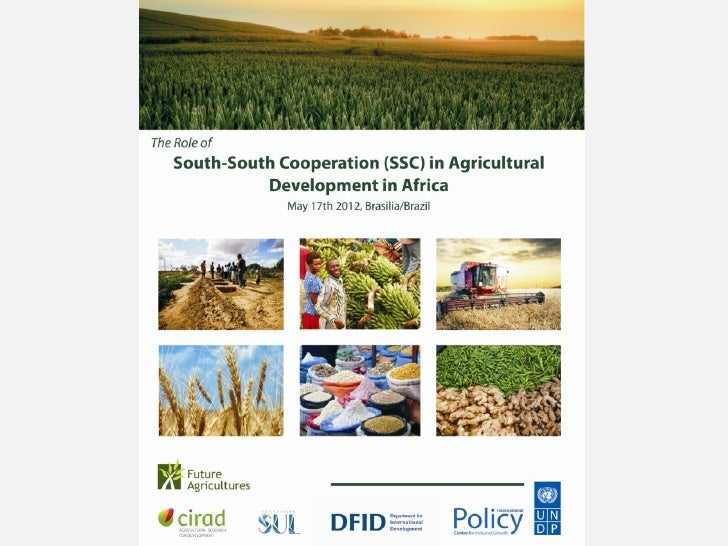 Seminar on the Role of South-South Cooperation in       Agricultural Development in Africa Panel 3 – Agriculture, climate ...